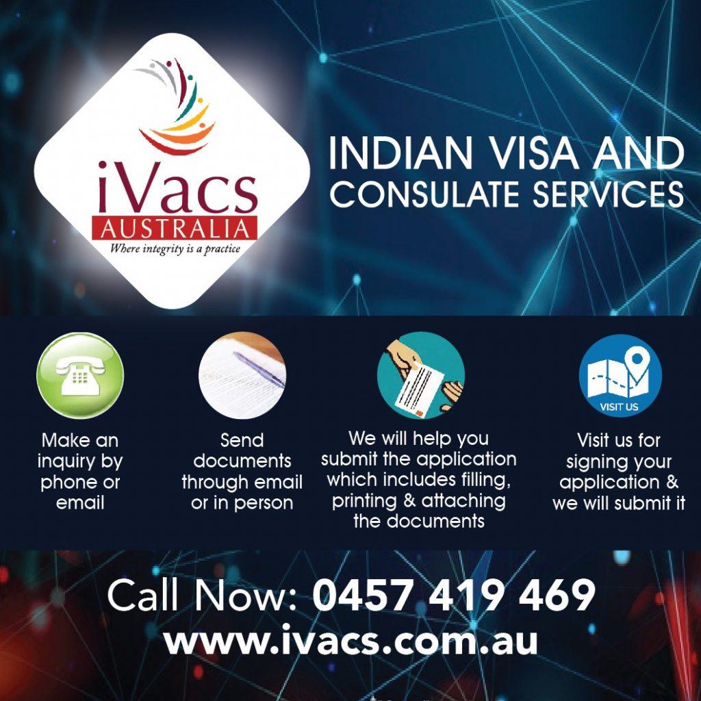 I iVACS - OCI Application Renewal Australia